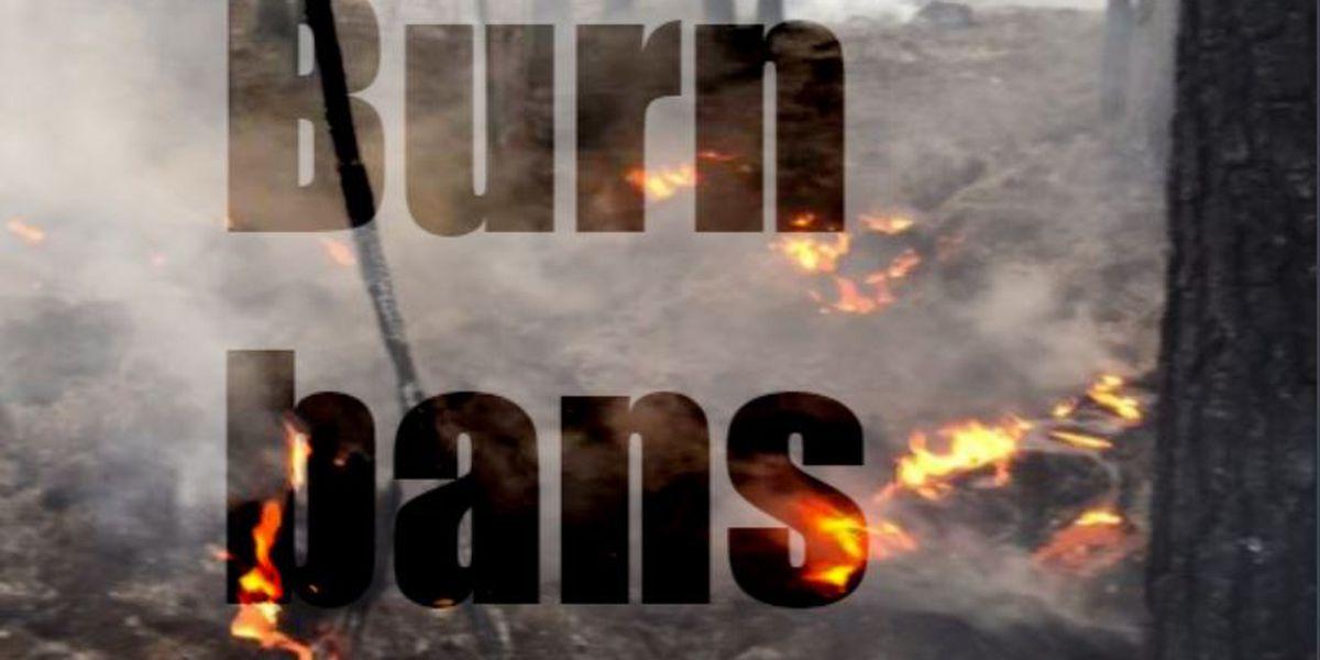 Burn bans in the ArkLaTex