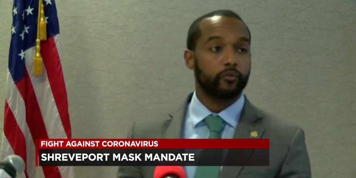 Shreveport mayor modifies mask mandate penalties for businesses
