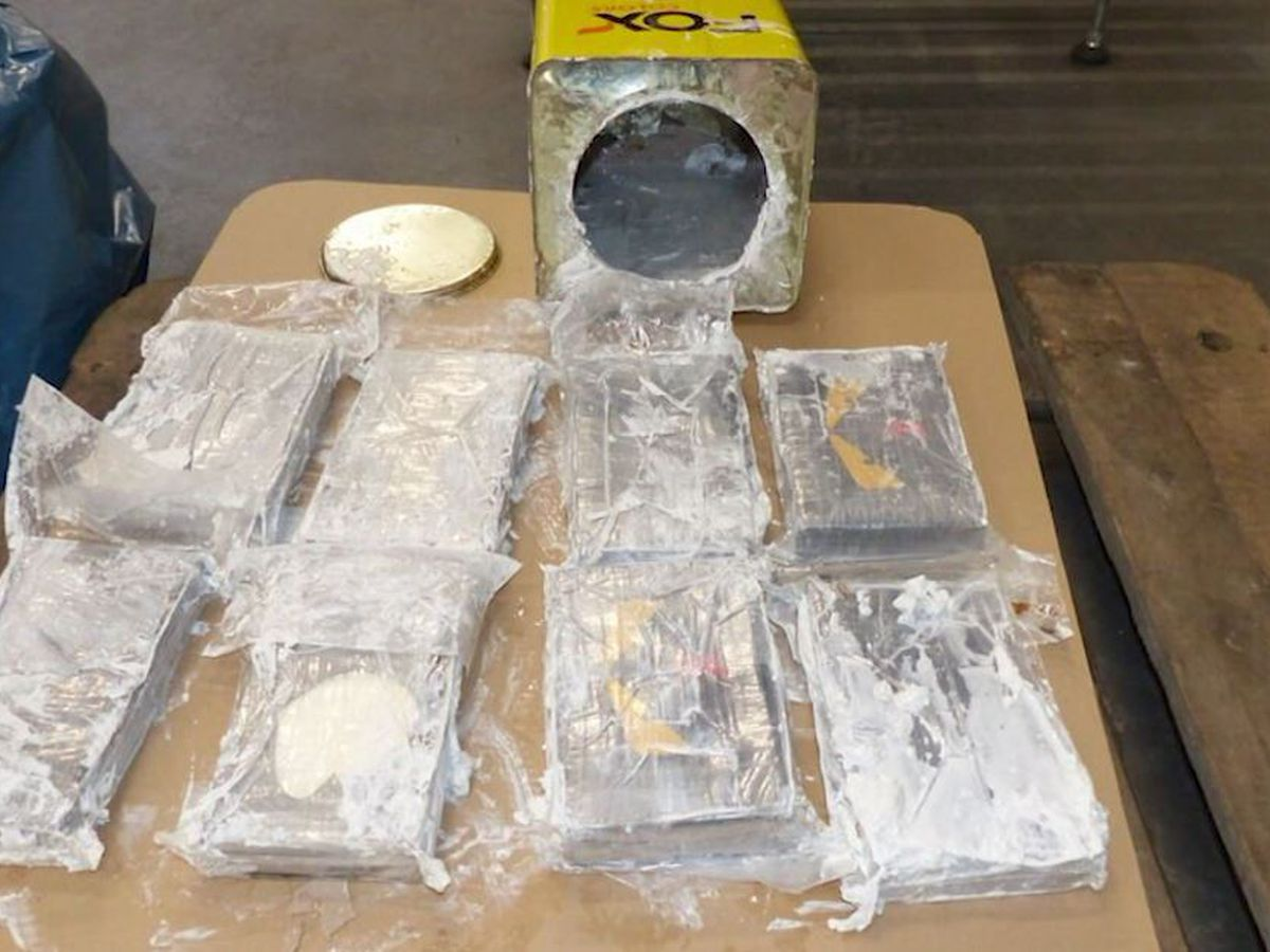 Germany finds huge cocaine shipment; 2nd seized in Belgium