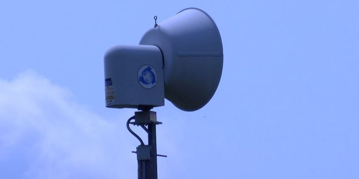 Tornado sirens being tested on Wednesdays in Texarkana