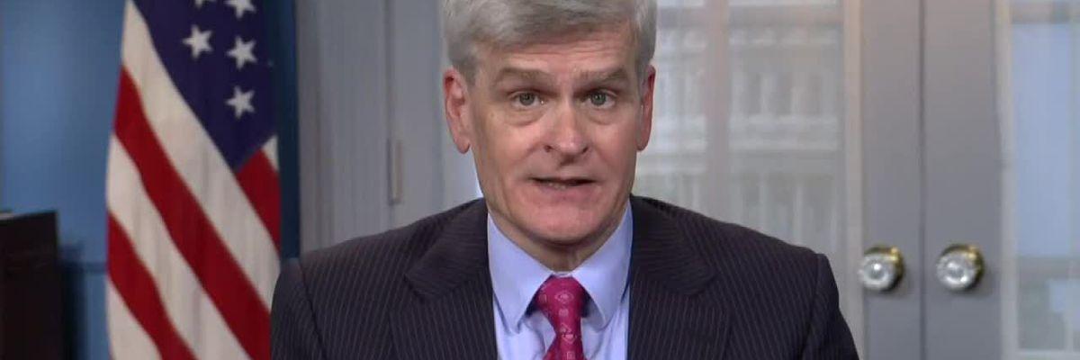 La. Senator Cassidy speaks on impeachment trial, COVID-19 relief package