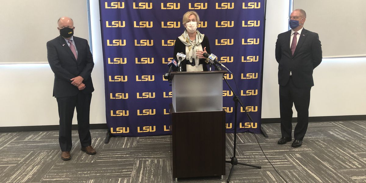 Dr. Deborah Birx backs Edwards' Phase 3 rules during LSU visit