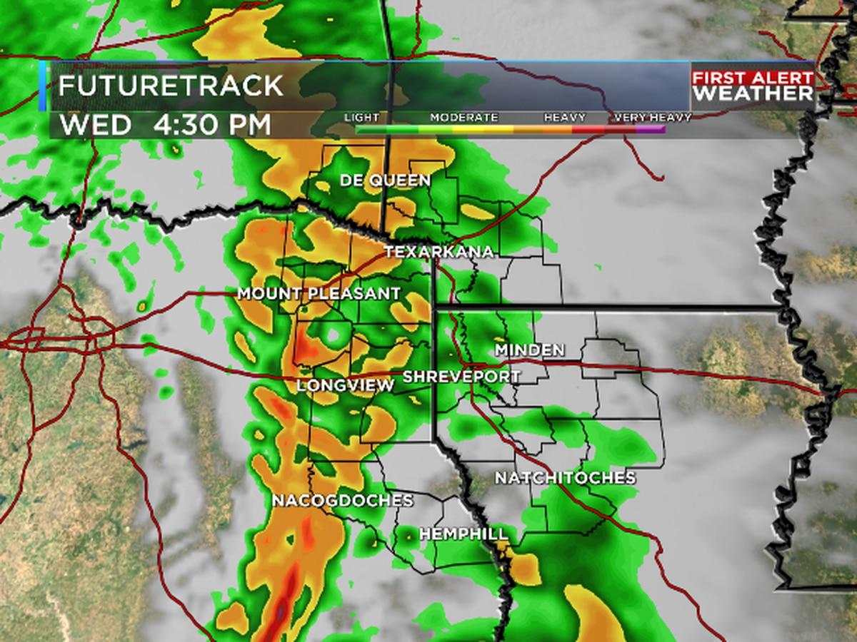 Rain returns Wednesday