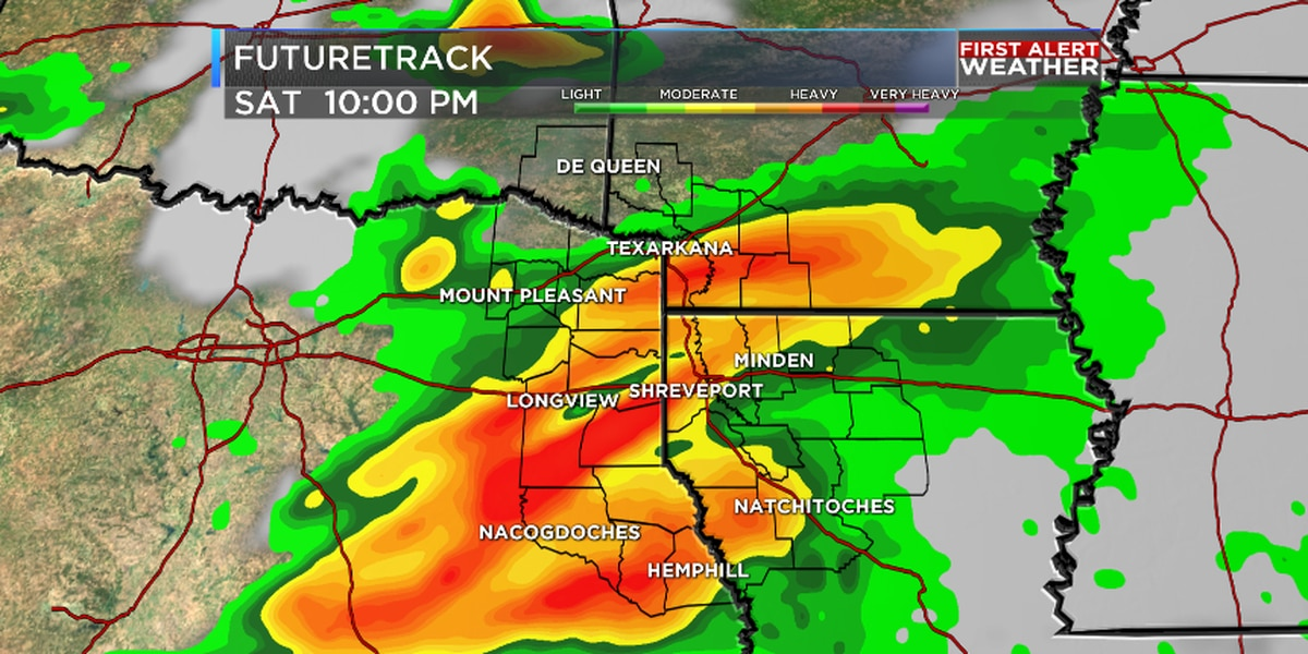 FIRST ALERT: Rain and strong storms expected for Easter weekend