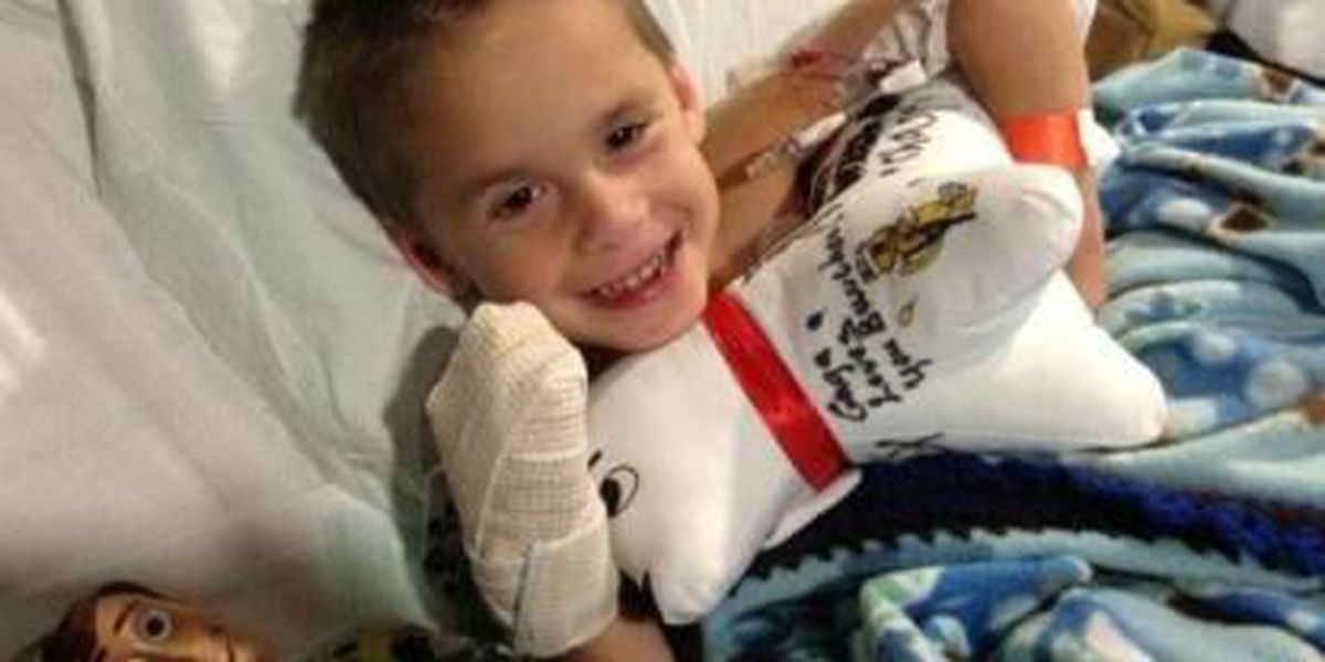 Liberty Eylau boy to lose leg after lawn mower accident