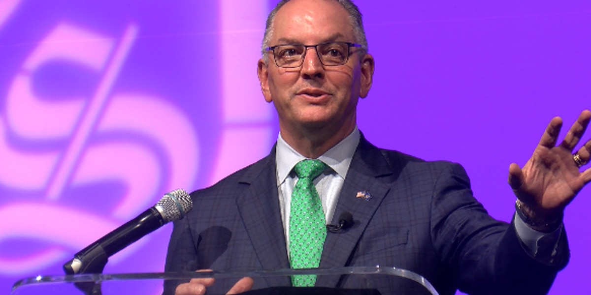 Louisiana governor updates cyber summit on threat to his state's school districts