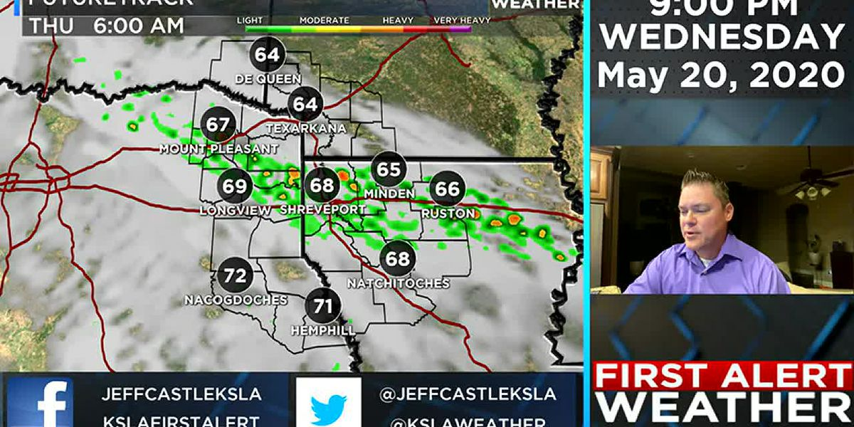 Daily scattered showers and storms continue