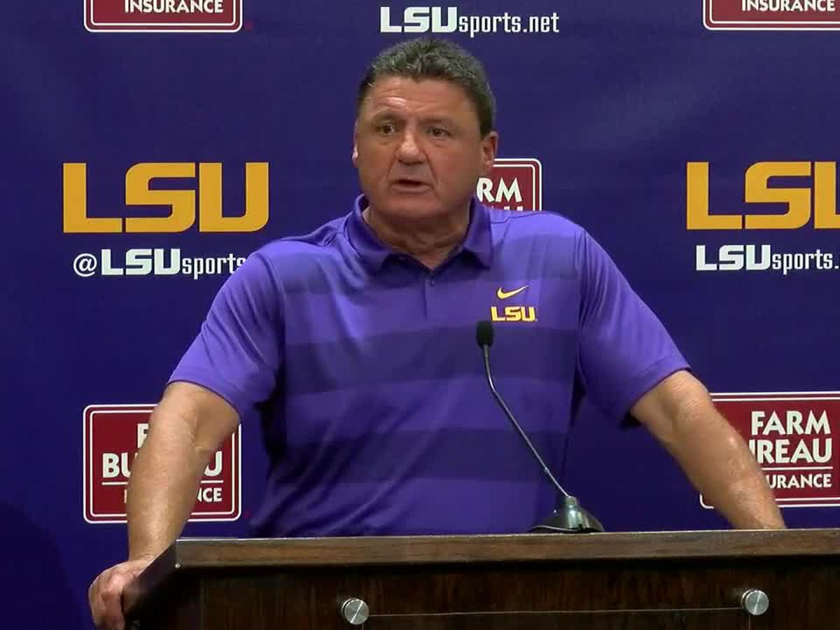 Lunch with Coach O: LSU vs. Northwestern St. Preview