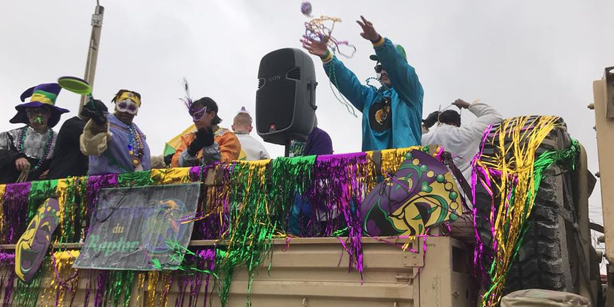 Mardi Gras themed packages allow deployed troops to celebrate in Afghanistan
