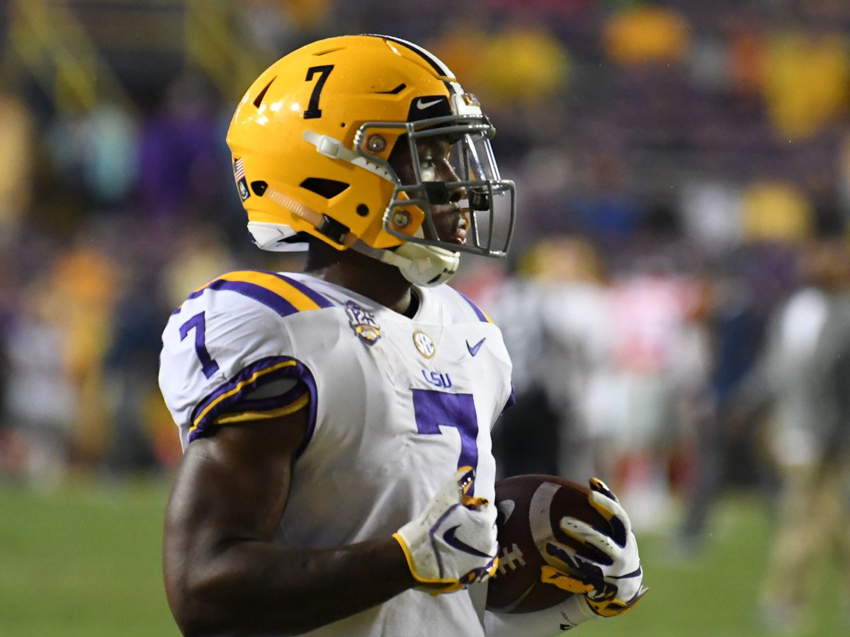 REPORT: LSU WR Jonathan Giles enters NCAA Transfer Portal