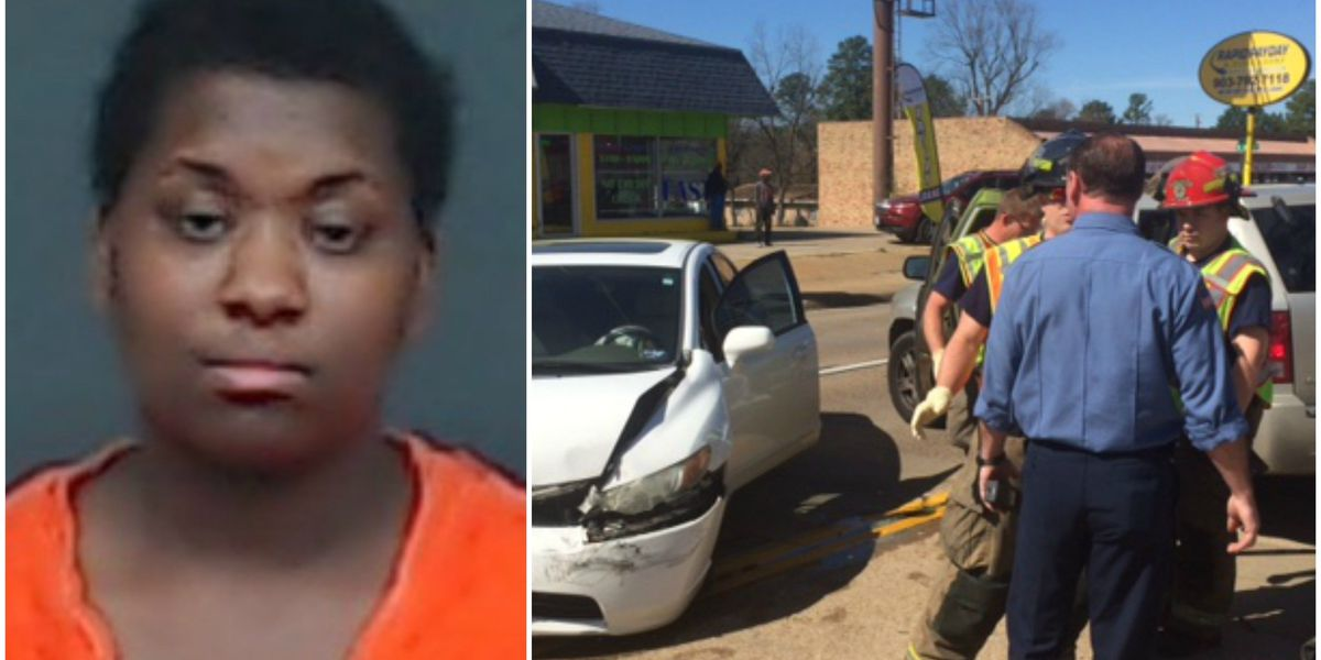 Child thrown from wreck; driver accused of endangerment