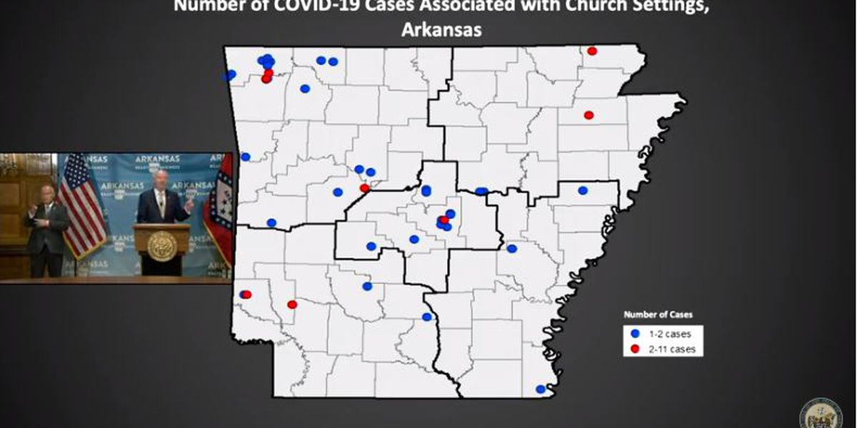 Area churches respond to list from state officials on COVID-19 exposure
