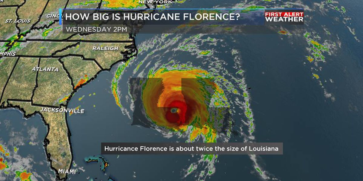 Hurricane Florence shifts south; Georgia and Carolinas hunker down