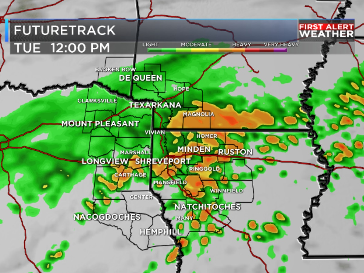 FIRST ALERT: Tracking more heavy rain and the coldest temps of fall so far