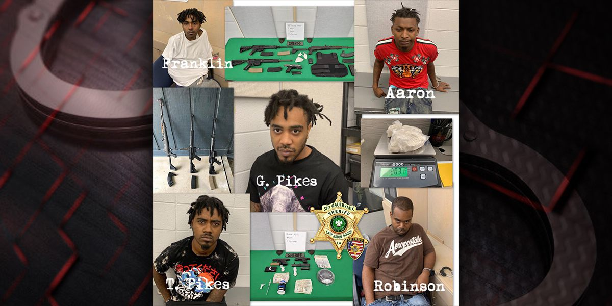 5 arrested in heroin bust at multiple locations; multiple guns seized