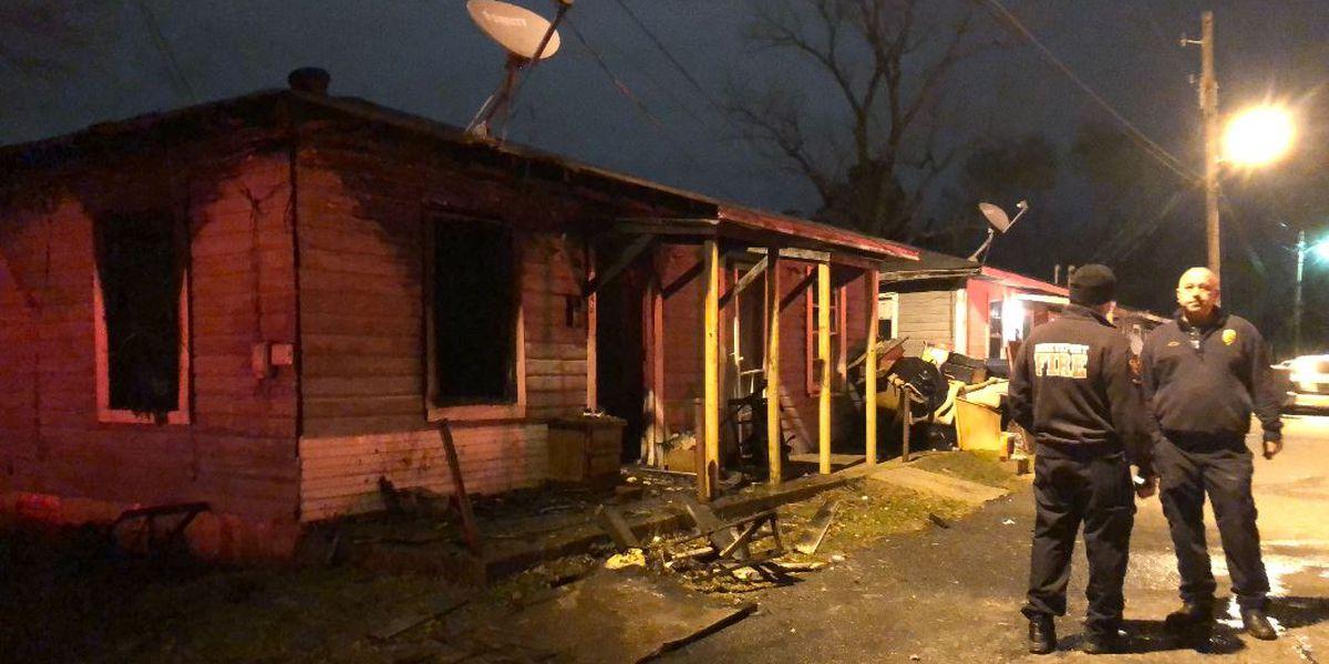 Fire heavily damages house in Allendale neighborhood