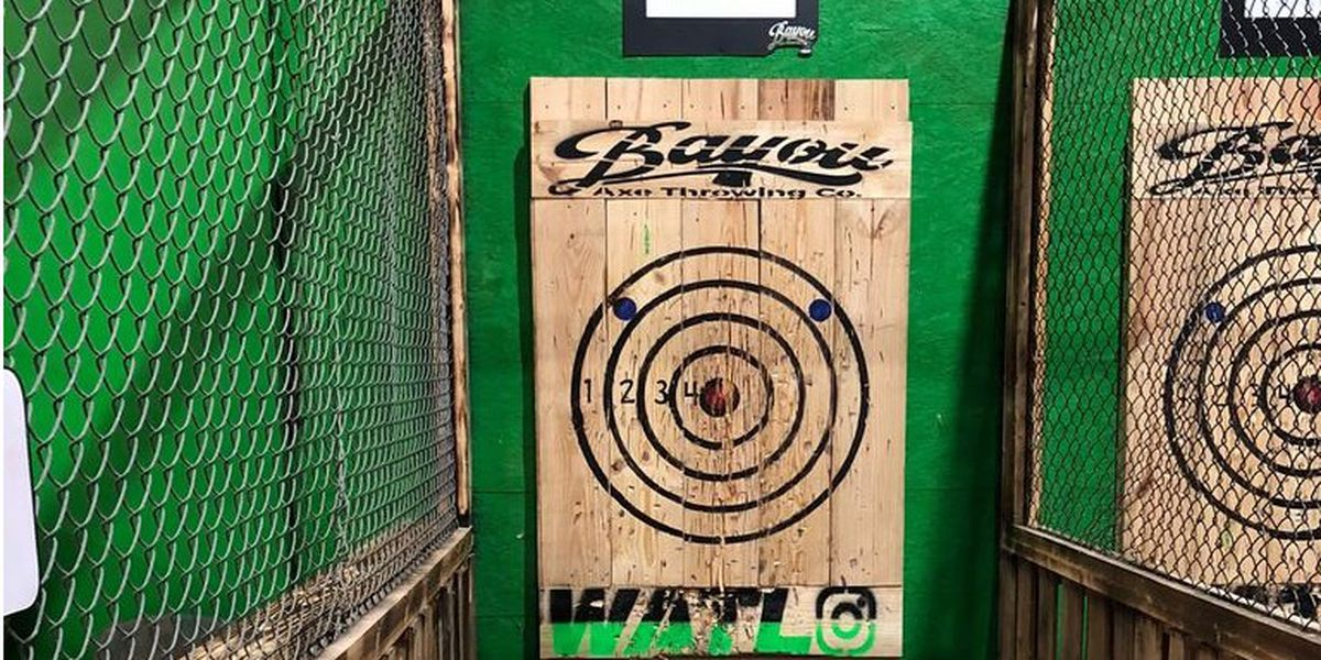NWLA gets first ever axe throwing venue
