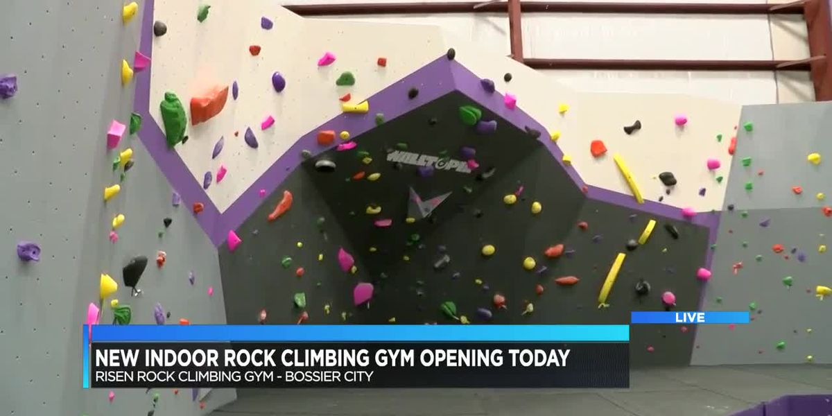 New indoor rock climbing gym opening today