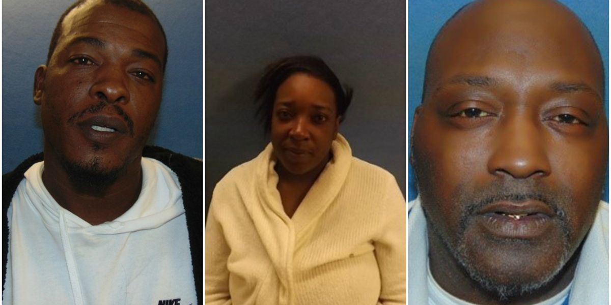 3 arrested in Hope, AR armed robbery