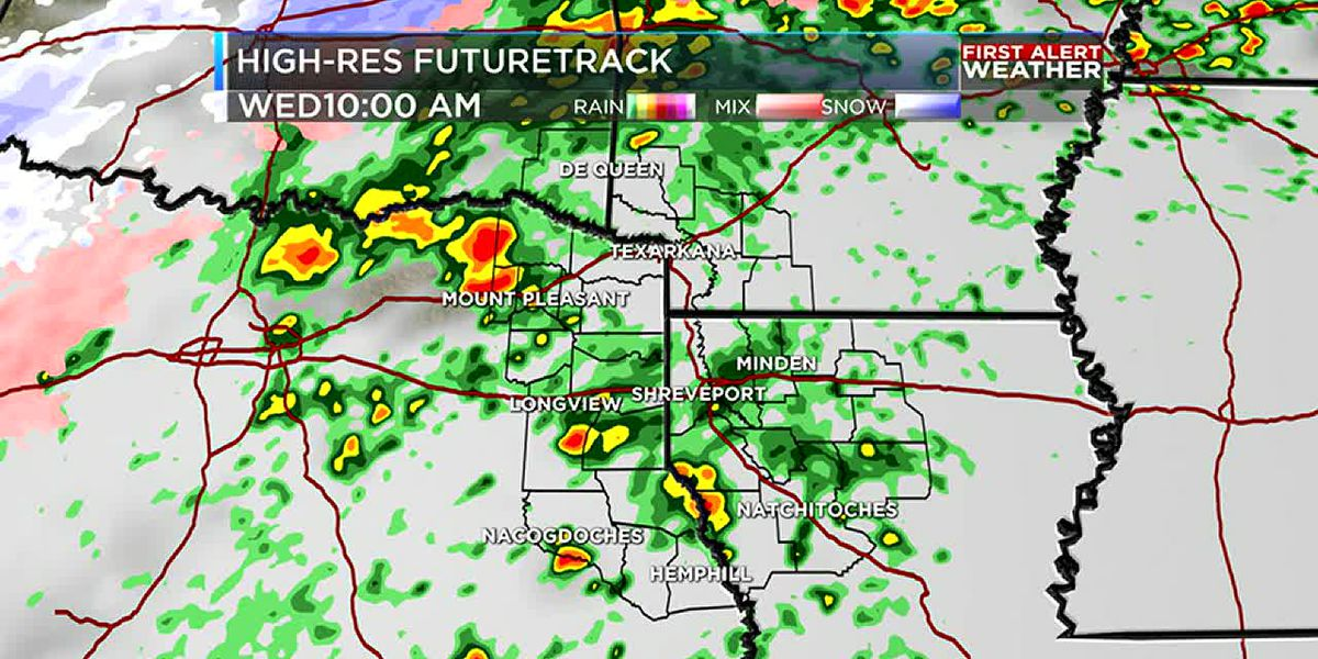 First Alert: Colder and wetter Wednesday ahead