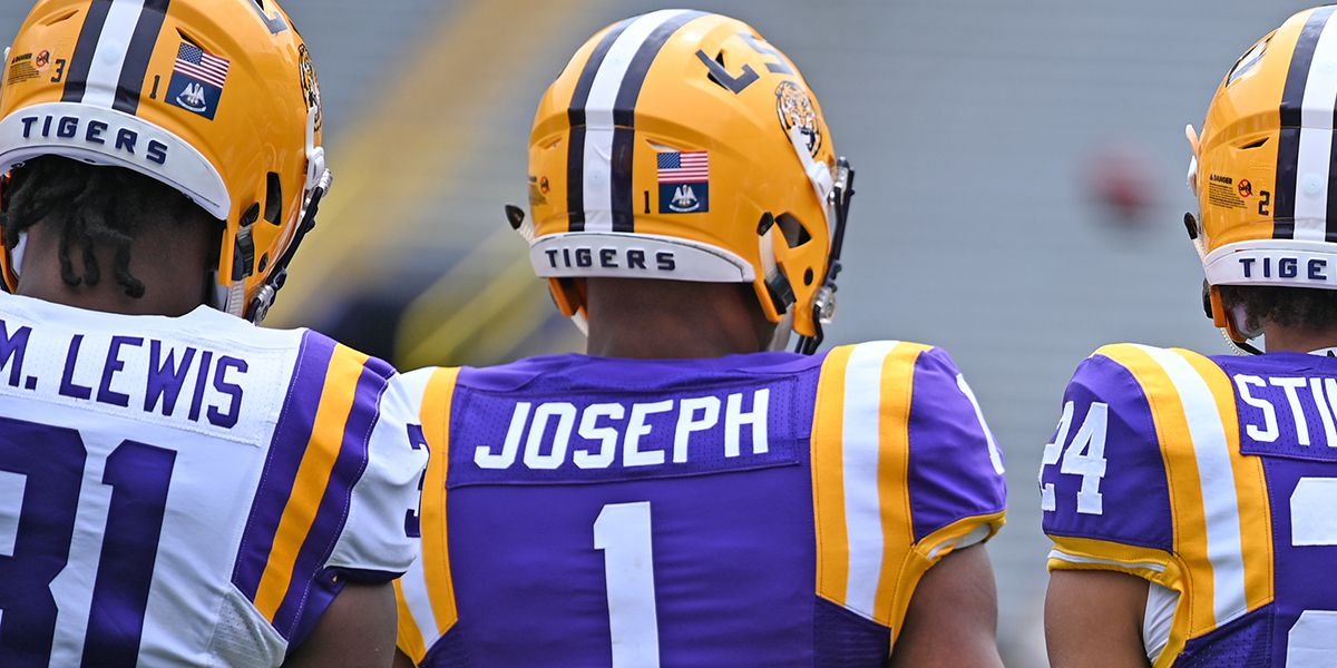 LSU sophomore DB Kelvin Joseph officially enters transfer portal