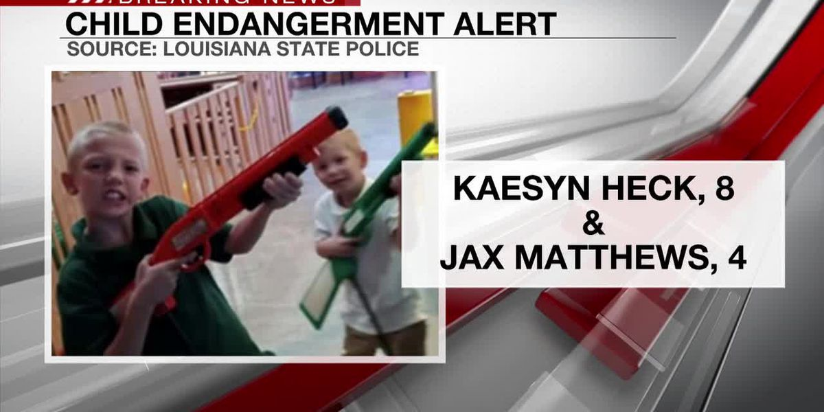 Authorities searching for missing children