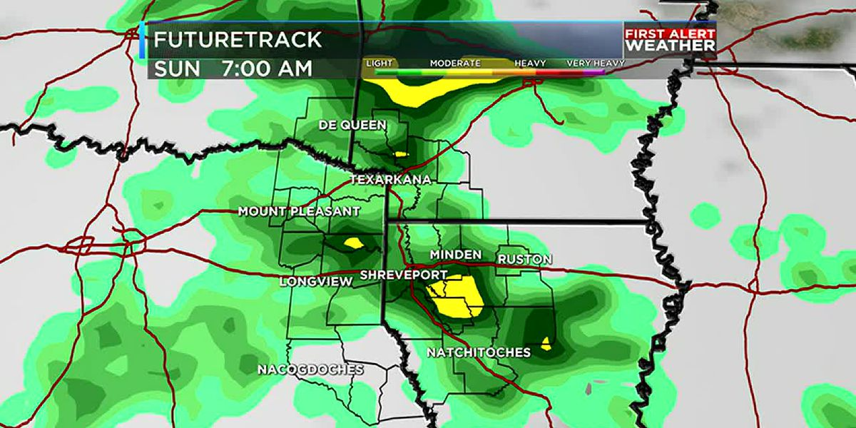A cool, rainy Saturday — FIRST ALERT Weather