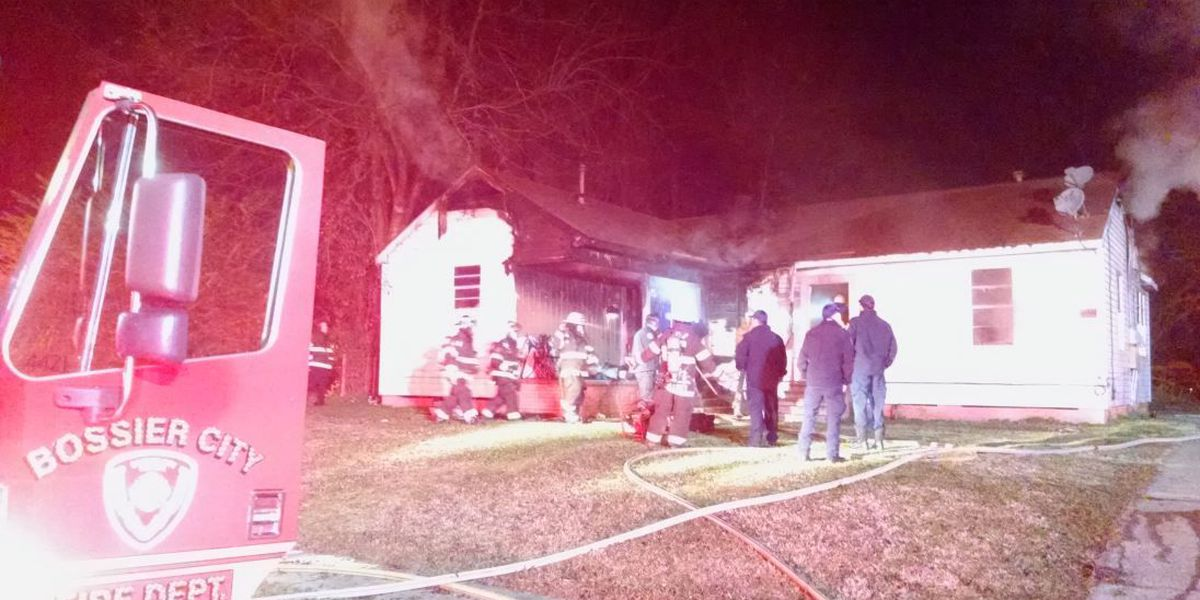 Bossier City family displaced after house fire