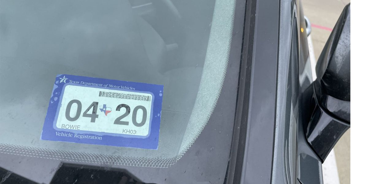 Texarkana Texas Police Dept. warns drivers waivers on vehicle registration, driver's license renewals & inspection stickers coming to an end