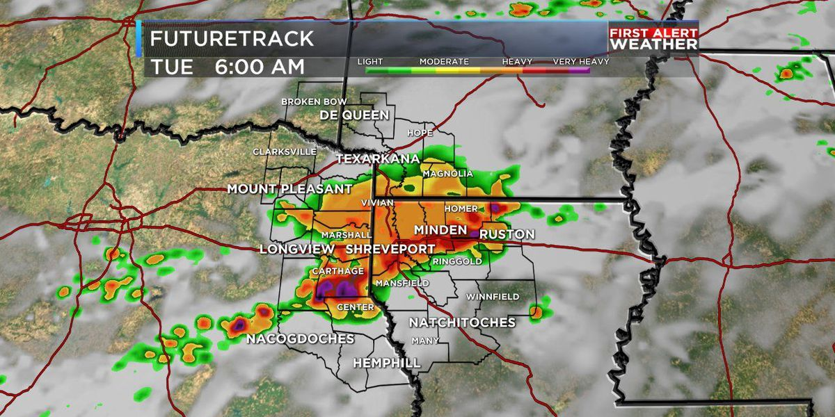 James: Showers and small storms may slow down your morning