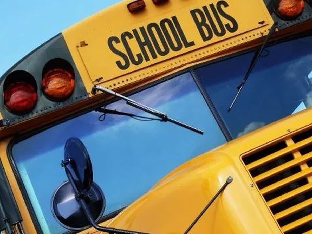 Bossier Parish school bus involved in crash