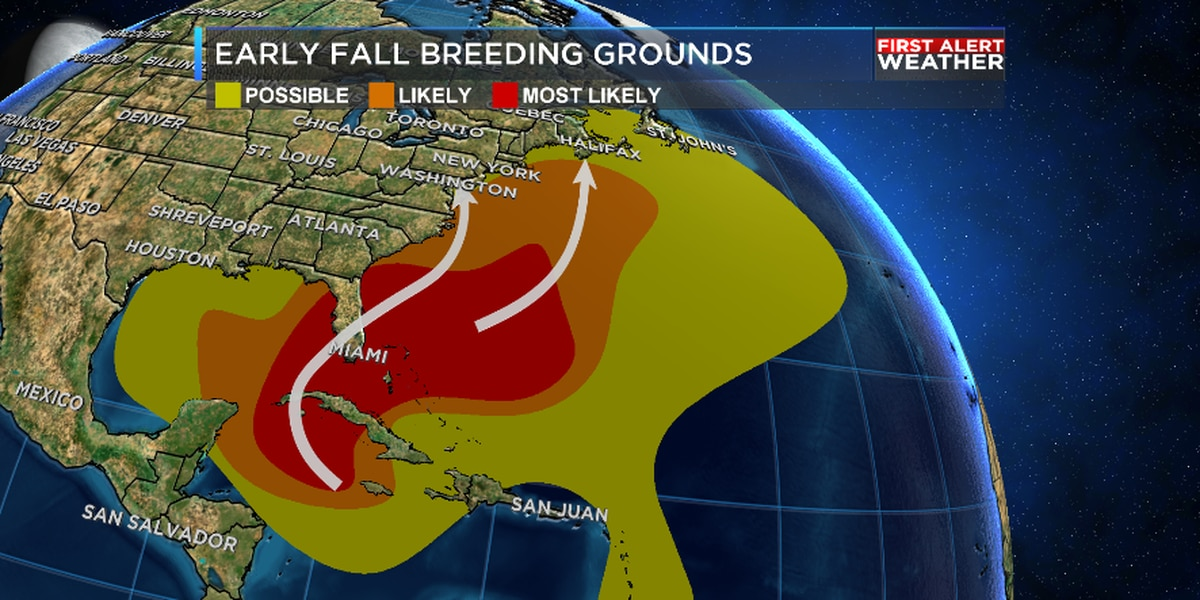 Quiet in the tropics lately, but eyes are back on it for October