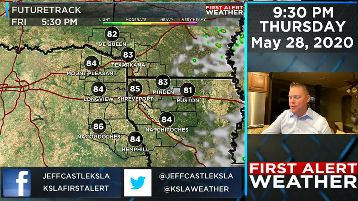 Dry sunny weather returns this weekend