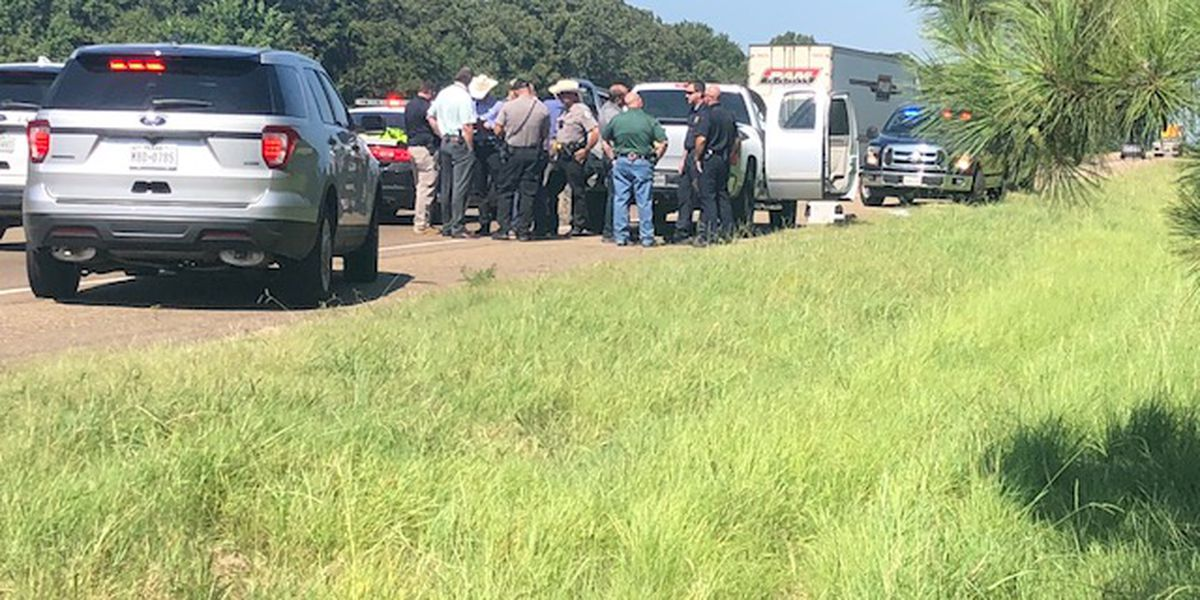 Driver hurt during chase in East Texas dies
