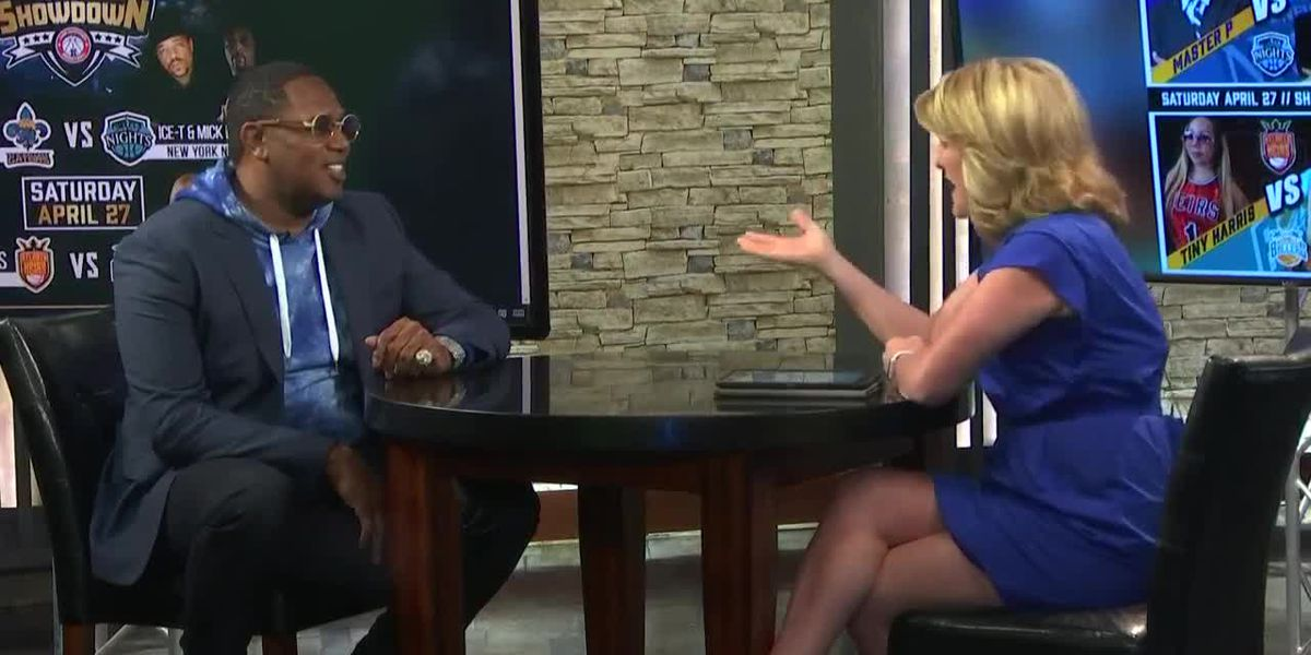 Master P discusses 'Global Mixed Gender Basketball' coming to Shreveport