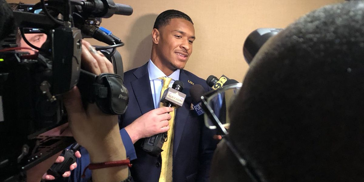LSU takes podium Monday at SEC Media Days