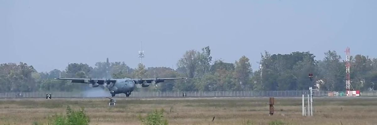 2 C-130 Hercules aircraft are here to take on Louisiana mosquitoes