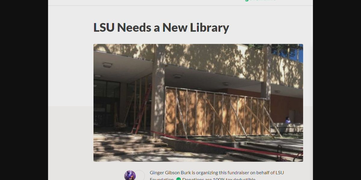 LSU alum's GoFundMe to build new library gaining traction