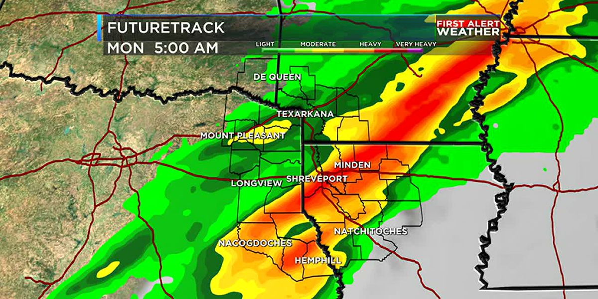 Rain continues through the end of the week