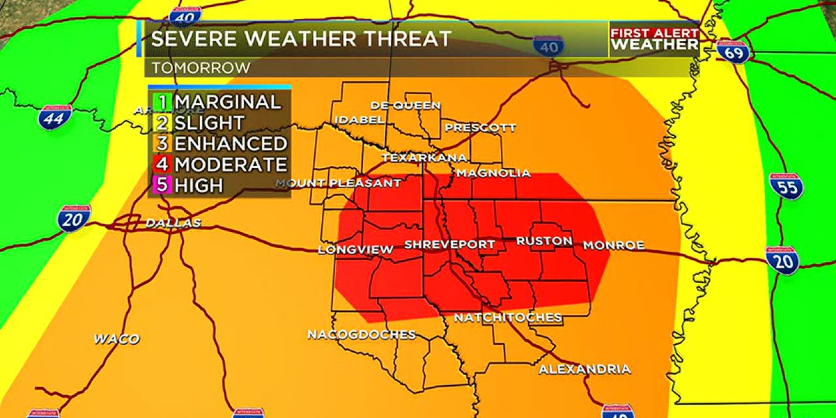 Severe threat upgraded to a moderate risk