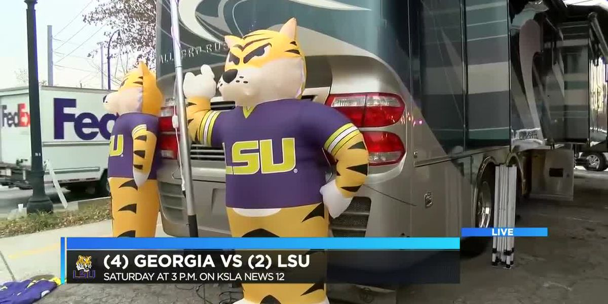 Tiger fans get early start on tailgating