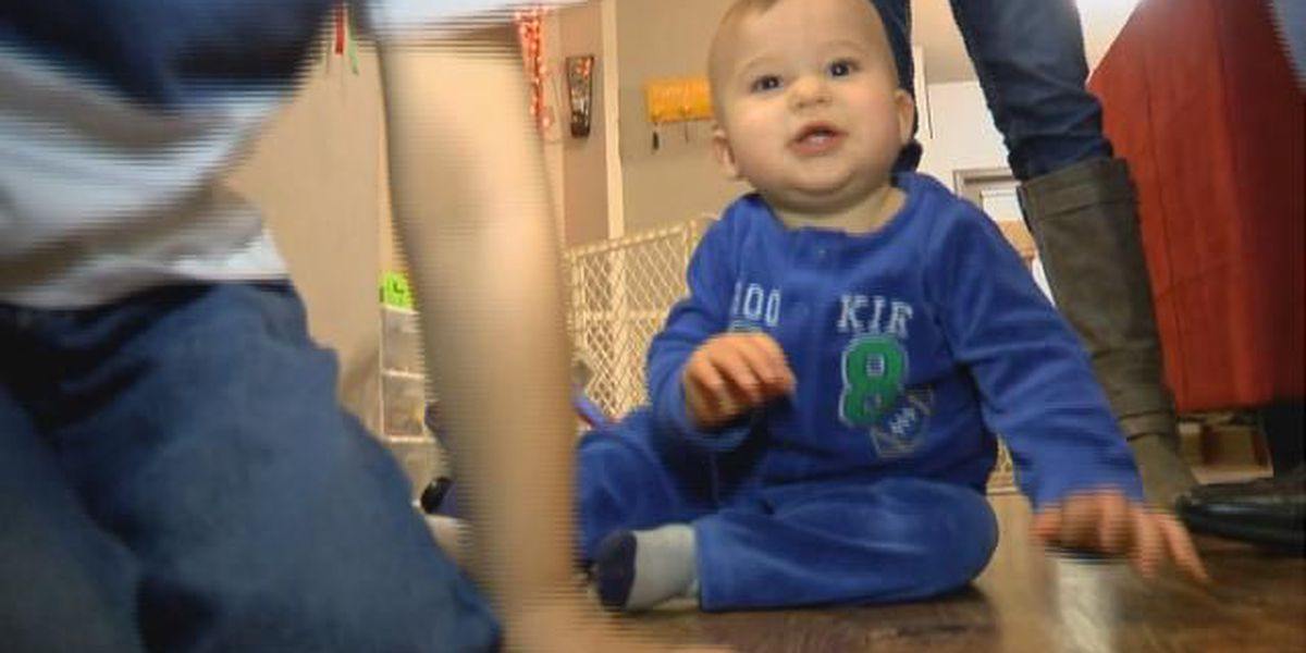 Bossier City family receives service dog