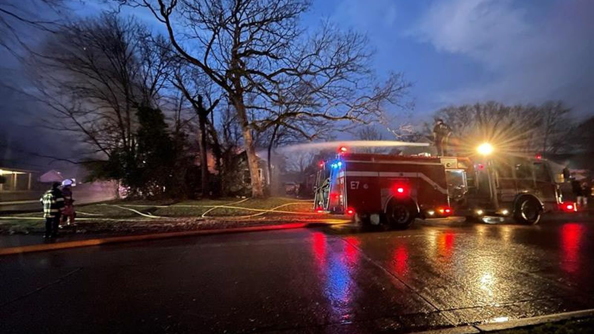 SFD battling large house fire on Dudley Drive