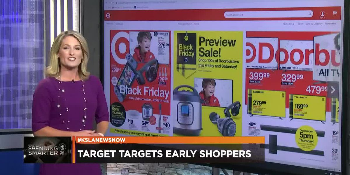 Spending Smarter: What you can expect during Target's early sale this weekend