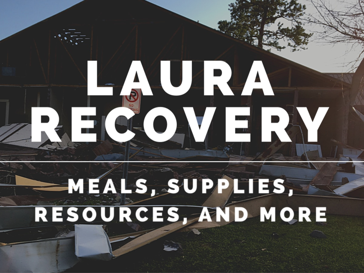 LAURA RECOVERY: What you need to know - Wednesday, Sept. 30
