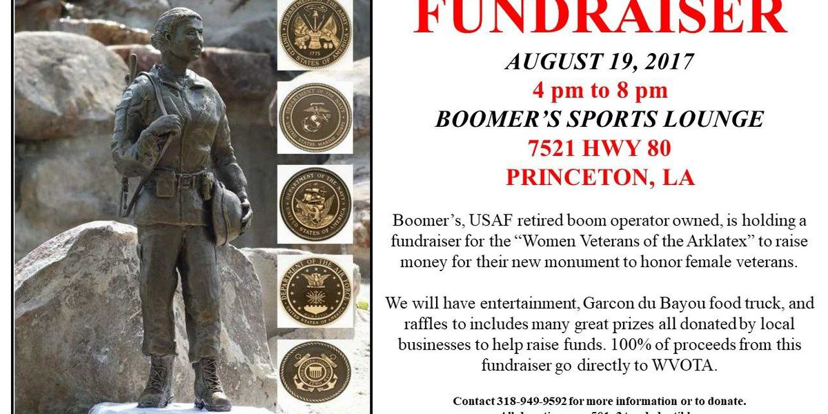 NWLA sports club to hold fundraiser for female veterans monument