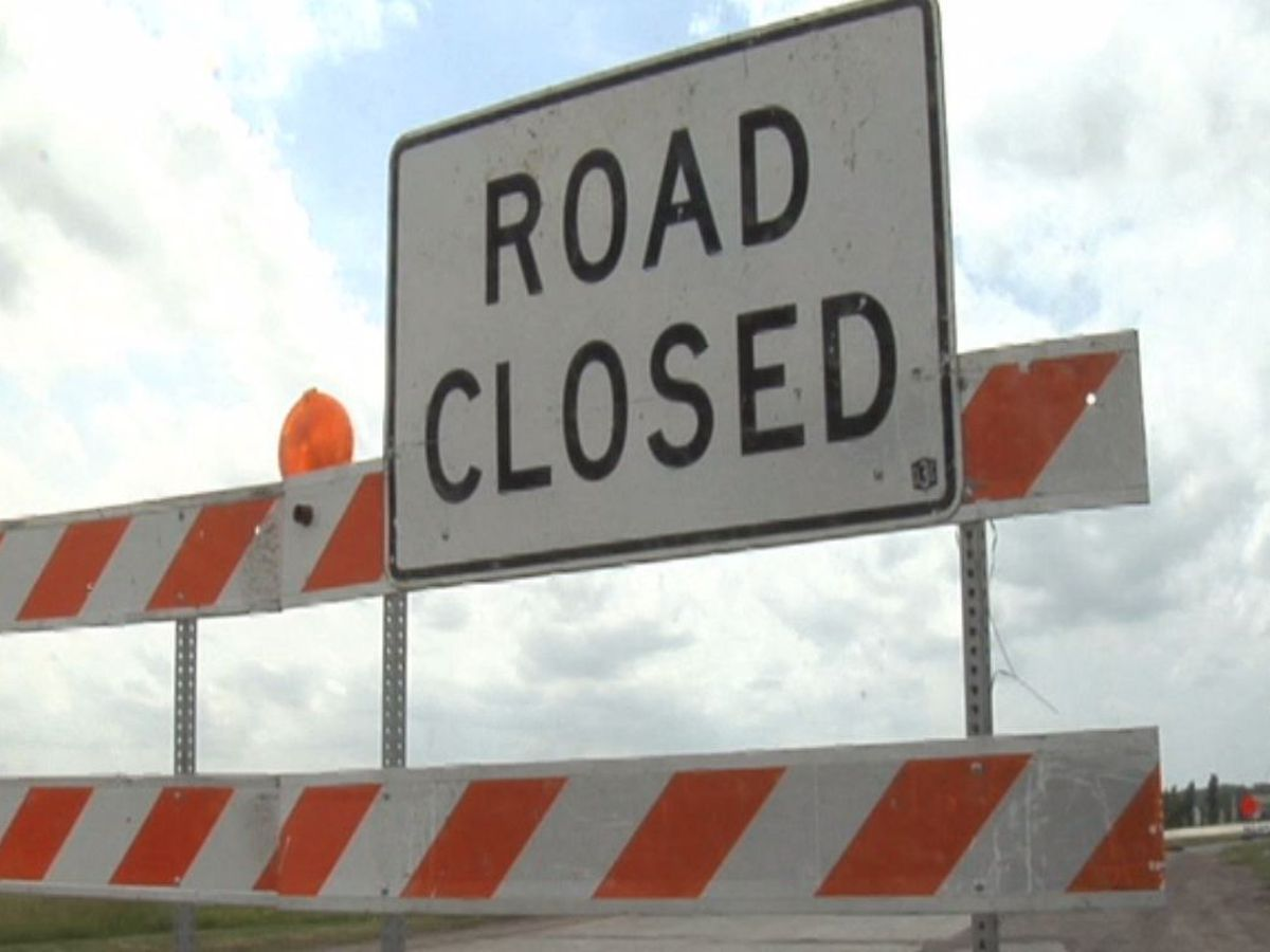 LaDOTD: Road closures due to wintry weather