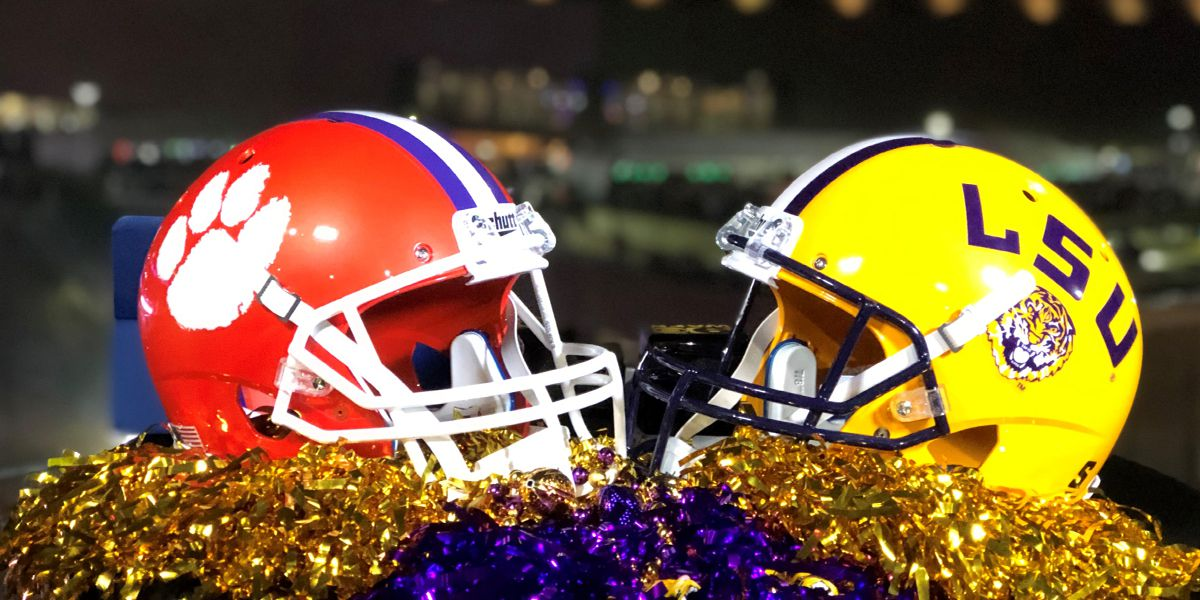 GAME UPDATES No. 1 LSU vs. No 3 Clemson in CFP National Championship