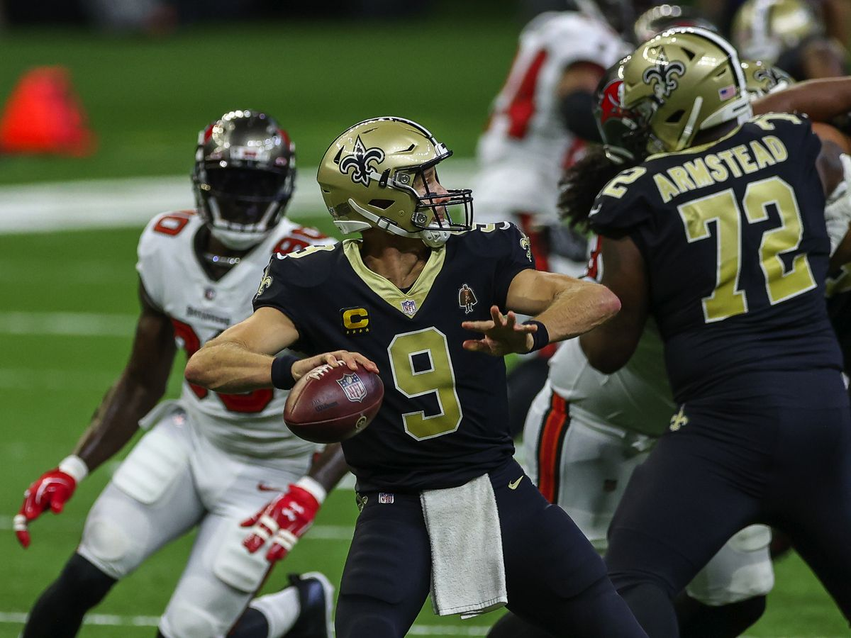Saints host the Bucs in the NFC divisional round of the playoffs