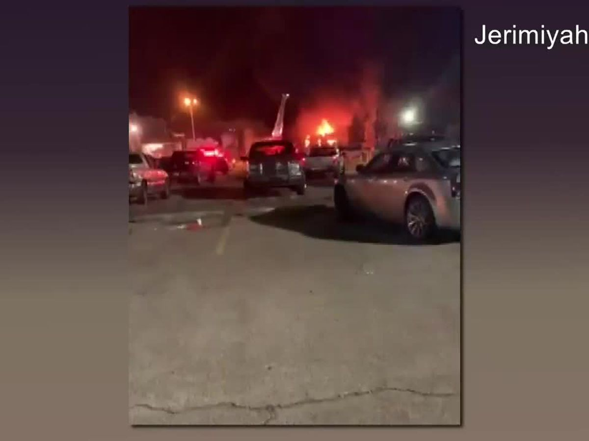 Crews investigating fire, reported explosion at Tyson plant in Nashville, Ark.